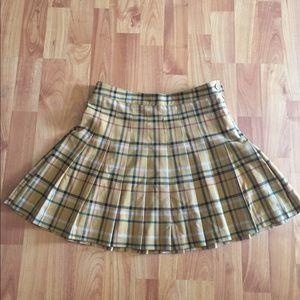 Forever21 Plaid Mini Skirt